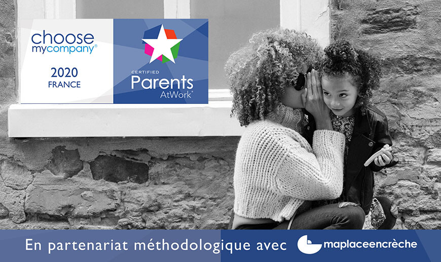 Photo du lancement de l'association avec ChooseMyCompany le label ParentsAtWork