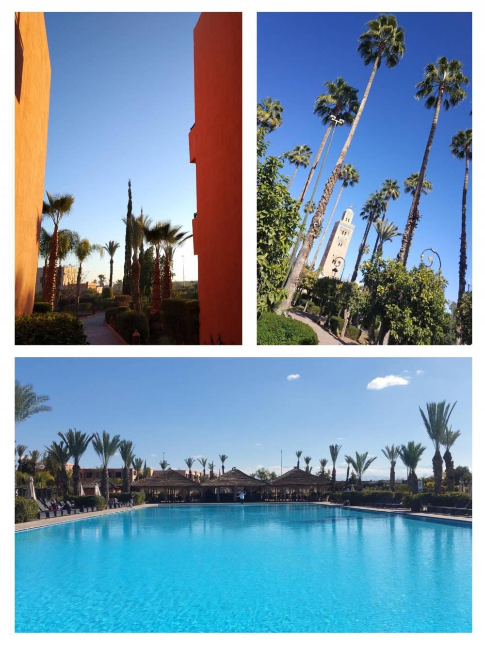 Hotel Kenzi Ménara Palace, Marrakech