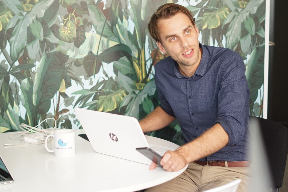 Eloi Fouquoire, Directeur des relations presse en indépendant pour maplaceencrèche