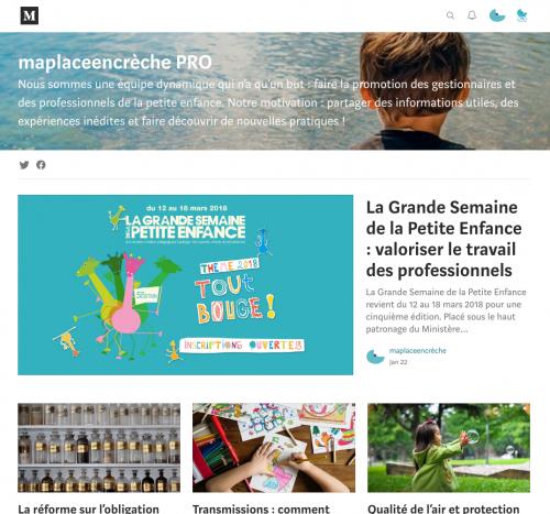 Blog PRO pour les professionnels de la petite enfance